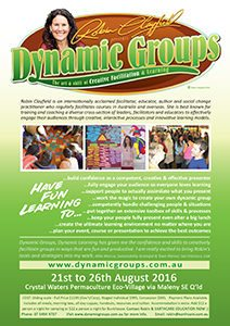 Dynamic Groups, Teaching Permaculture Creatively