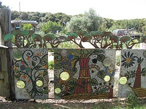 Barwon Heads Community Arts Garden Entrance fence section