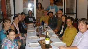A Completion Feast at a Crystal Waters Permaculture Course