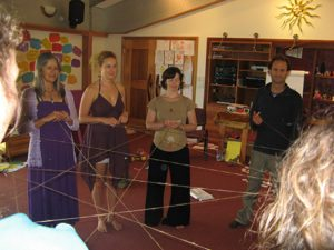 A String Web which can be used for celebrating each person