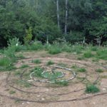 Spiral Labyrinth In Italy Women's Weekend
